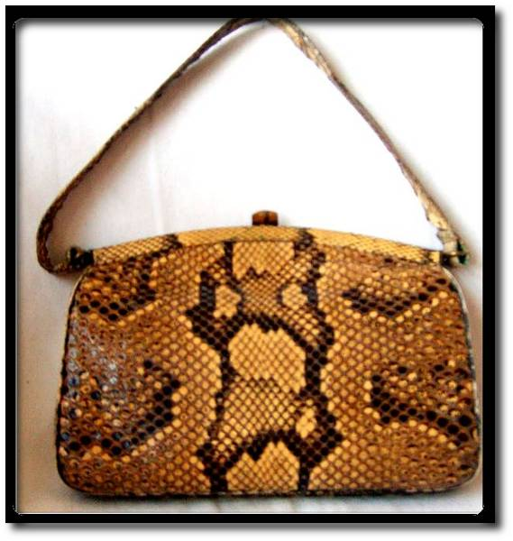 sac en peau de serpent
