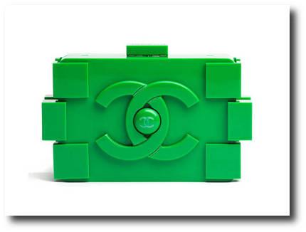 Sac à main Chanel Lego