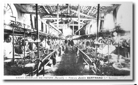 filature Justin Bertrand