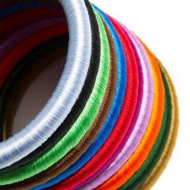 Bracelet en fil de soie