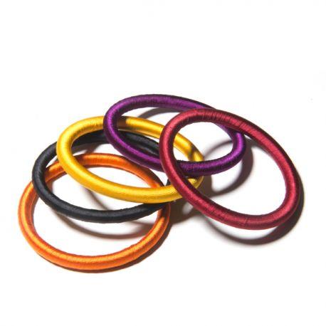 Bracelets en fil de soie - été indien